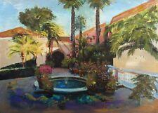 "Starlie Sokol Hohne ""The Bel Air"" Hand Signed Embellished Giclee Art Make Offer"