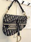 Christian Dior Saddle Bag Lady Oblique Very Used 2020
