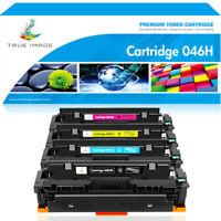 4 Pack Toner Cartridge for Canon 046 046H Imageclass Mf733cdw Mf731cdw Mf735cdw