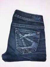 Silver Jeans Co Dark Wash Aiko Slim Skinny Jeans 26x31 26x29 Hemmed Cropped