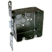 Raco 685 Ts Bracket 2 Gang Square Box - 4 x 2.13 in. Deep