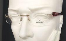 Rodenstock R 2144 C S2 randlose Damen Brille (LP219€) Fassung Neu vom Optiker