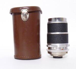 Voigtlander Super-Dynarex 135mm F4 DKL Mount Lens - Parts or Repair