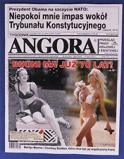 MARILYN MONROE & COURTNEY STODDEN  mag.COVER Poland No 29