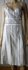 Zara Cotton Striped Dresses Midi
