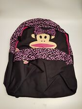 PAUL FRANK YOUTH BACKPACK PINK & BLACK