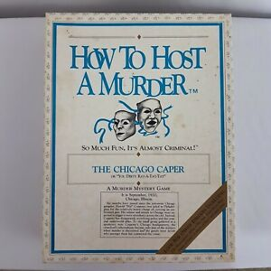 How to Host a Murder The Chicago Caper You Dirty Rat A Tat Tat 1920 Collectable