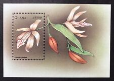 GHANA ORCHIDS STAMPS S/S 1998 MNH ORCHID STAMPS FLOWERS NATURE WILDLIFE FLORA