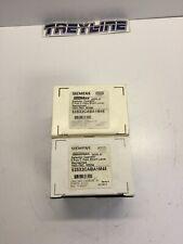 Lot Of 2 New Siemens 52sx2caba1m48 3 Position Switch Nema 4x 3g 2