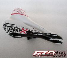Sella TKX Pro BIANCO-NERA,antiprostata,per bici MTB/Corsa