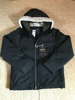 Men's Abercrombie A&F Down-Filled Wind/Water Resistant Jacket Medium Grey - New