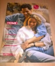 LG Home Entertainment TV & Home Product Catalogue Brochure Book Winter 2000