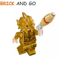 LEGO Minifig Figurine Super Heroes SH432 Atlantean Guard + Blaster NEUF NEW