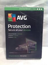 (BULK25) Upgrades to AVG Protection 2017 For Unlimited Devices 1 year (2015 vers