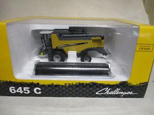 (2013) Cat Challanger Model 645C Toy Combine with Grain Head, 1/32 Scale, NIB