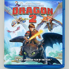How to Train Your Dragon 2 movie 2014 Blu-ray disc + Digital HD + case, No DVD