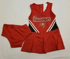 e1613ff76 NWT Tampa Bay Buccaneers Girls Cheerleader Costume 2 pc Set Infant 18 Months
