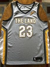 14ad7a95a NBA Cleveland Cavaliers LeBron James Nike Swingman Jersey City Edition 52 XL
