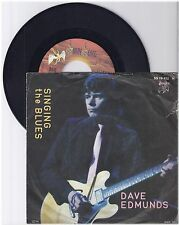 """Dave Edmunds, Singing the blues, A/VG,  7"""" Single 0991-0"""