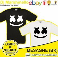 T-SHIRT - DJ MARSHMELLO - Face Electronic Dance Tribute Musica Music Italian Alb