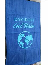 "DAVIDOFF COOL WATER LOVE THE OCEAN BEACH TOWEL 56""x32"" NEW IN PACKAGE"