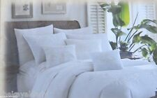 TOMMY BAHAMA TWIN DUVET WHITE EMBROIDERED PALM TROPICAL HIDEAWAY NEW BEAUTIFUL!