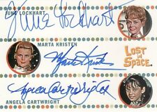 The Complete Lost in Space Rare Lockhart, Kristen & Cartwright Triple Auto Card
