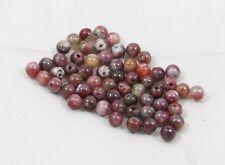 Natural TOURMALINE round bead / strand 5mm - 60 beads