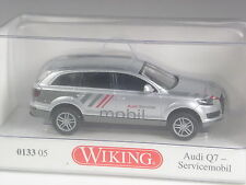 TOP: Wiking Serienmodell Audi Q7 Servicemobil silber in OVP
