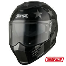 New Simpson Subdued Venom (Bandit) Motorcycle Motorbike Helmet 2018 Model