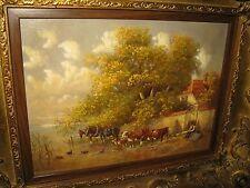 LÜCKEL Christian, *1945 Wundervolles Chiemsee Gemälde