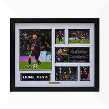 Lionel Messi Signed & Framed Memorabilia - White/Black - Limited Edition