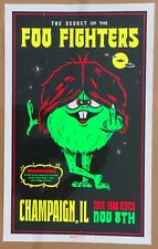 Foo Fighters Champaign State Farm Center Poster  00004000