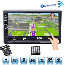 "2Din GPS Autoradio Bluetooth AUX TF USB 7 ""Pantalla táctil MP5 Player + cámara"