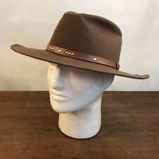 ea260b24a6f Vintage Brown Wool Cowboy   Western Hat Size Medium USA (CH18)