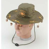 AUSTRALIAN CORK HAT CROCODILE DUNDEE AUSSIE FANCY DRESS