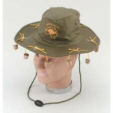 5 Australian Aussie Cork Hat Adult Crocodile Dundee Stag Night Fancy Dress