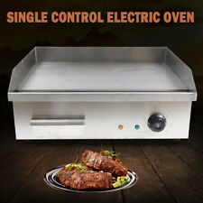 Commercial Electric Countertop Griddle Restaurant Kitchen Flat Top Grill Bbq 3kw
