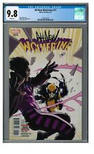 All-New Wolverine #17 (2017) David Lopez Cover X-23 CGC 9.8 White Pages GG601