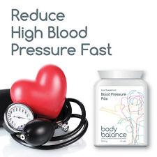 BODY BALANCE BLOOD PRESSURE PILLS TABLETS REDUCE HIGH BLOOD PRESSURE FAST