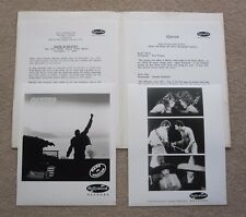 QUEEN : Made in Heaven 1995 USA Promotional Press Pack Promo Kit Incl Photos
