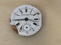 Georges Favre Jacot Locce | Swiss Pocket Watch Body for Parts | Sold AS-IS
