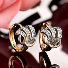 Pendientes De Diamante Oro Amarillo 18K 309