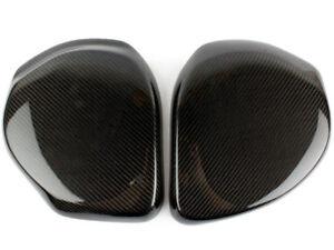Real Carbon Fiber Battery&Brake Fluid Cover For Nissan Fairlady 350Z Z33