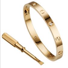 Men Women Steel Fashion Love Screwdriver Bangle Bracelet Gift US