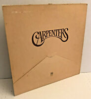 "CARPENTERS S/T LP A&M st-3502 Self Titled 12"" Vinyl Record Stereo"