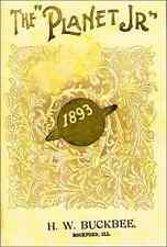 1893 PLANET Jr. catalog - S.L. Allen & Co. – reprint