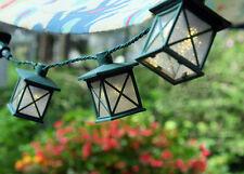GKI Bethlehem Lights Patio String Lights Colonial Lantern set of 10