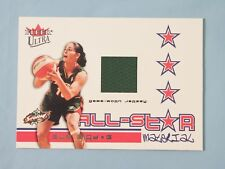 2004 Fleer Ultra SUE BIRD WNBA All-Star Game-Worn JERSEY CARD Seattle Storm