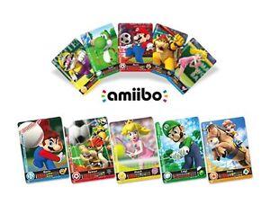 Mario Sports Superstars Amiibo Individual Cards You Choose Horse North American